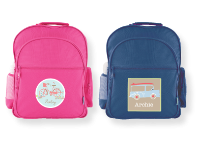 Personalized Backpacks (they have woodland creatures) for when ...