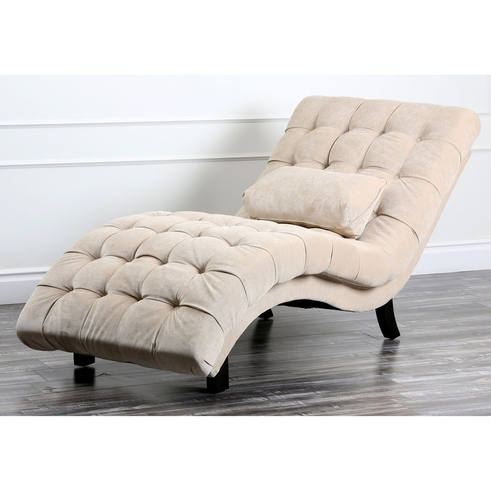 Chaise Lounge Sofa Chair Furniture Lounge Bed Room Living Recline Couch Tufted Chaise Lounge Chaise Lounge Sofa Lounge Chair Bedroom