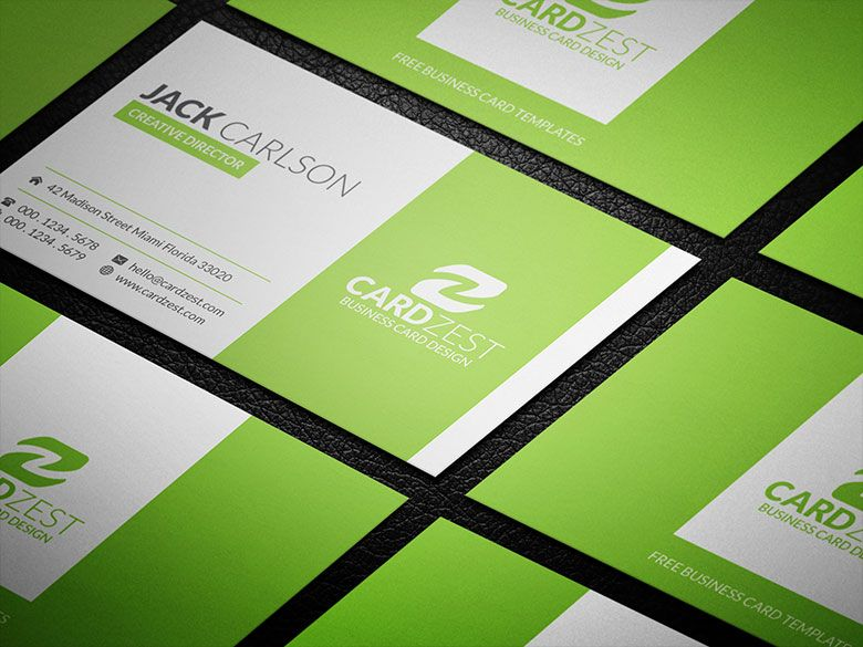 Download   Buscard    Green Business Business Cards