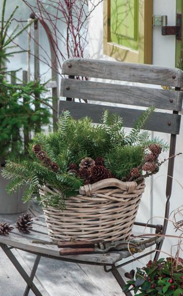 Weihnachtliche Deko-Ideen mit Zapfen