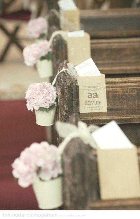 Dekoration #Hochzeit # in der Kirche #Pas #Cher # | # Dekoration #Hochzeit # | # Ideen …