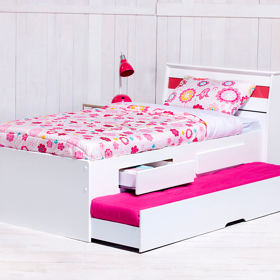 Gen rico cama 1 plaza teen bibox babies for Camas de 1 plaza baratas
