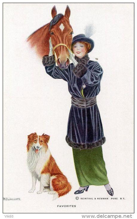 Postkaarten > Thema's > Illustratoren & fotografen > Illustrators - Gehandtekend - Delcampe.net