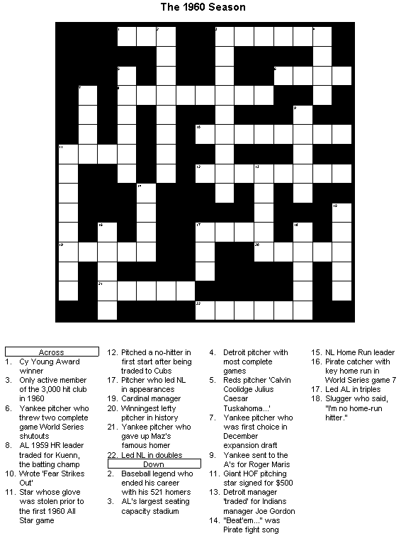 All about crossword puzzle famous inventions and inventors all about crossword puzzle fandeluxe Images