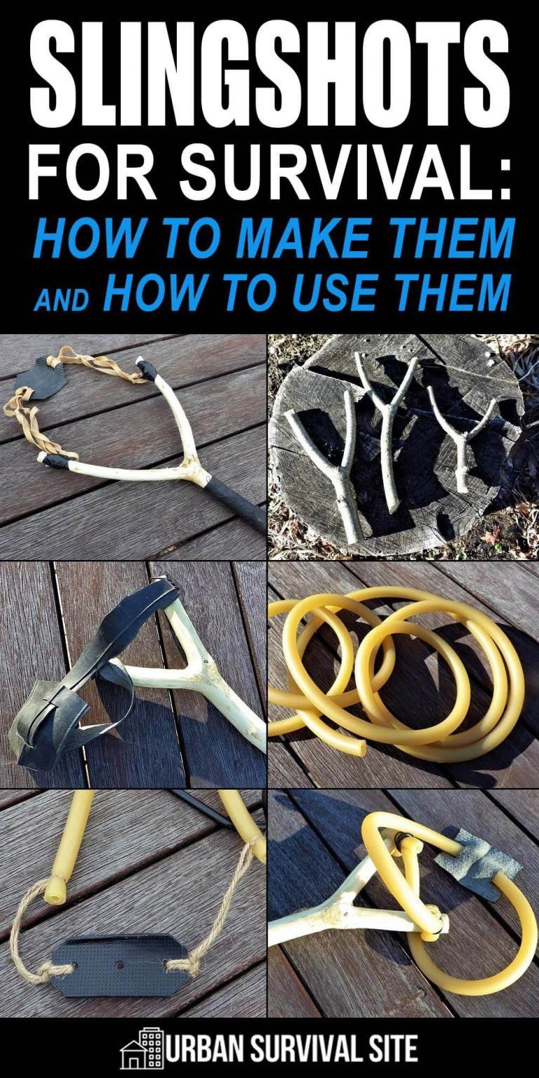 Slingshots for Survival: How To Make Them and How
