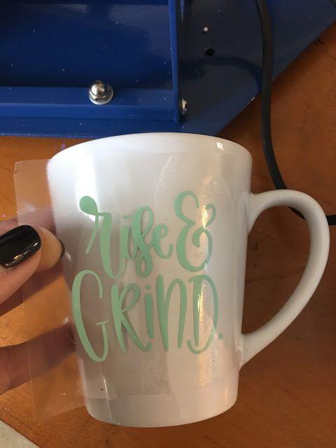 Putting Htv On Mugs With A Mug Press Beginner Tutorial