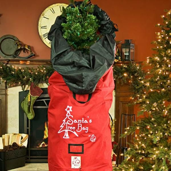 Santa S Bags Upright Artificial Christmas Tree Storage Bag