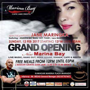 Makan Gratis di Grand Opening Marina Bay Cafe dan Resto - Entertainment