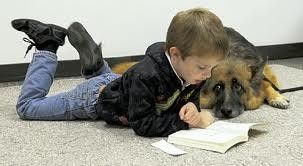 Paws To Read Dogs Kids Reading Therapy Dogs