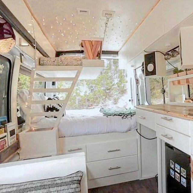 Photo of Schönes Zuhause auf Rädern. Liebe das Etagenbett! @fitetravels,  #afitetravels…