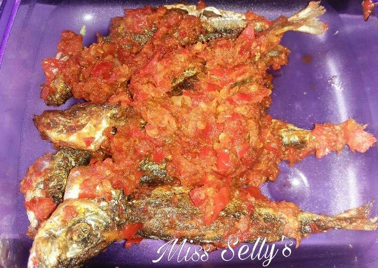 Resep Sambal Ikan Dencis Oleh Miss Selly S Resep Resep Tumis