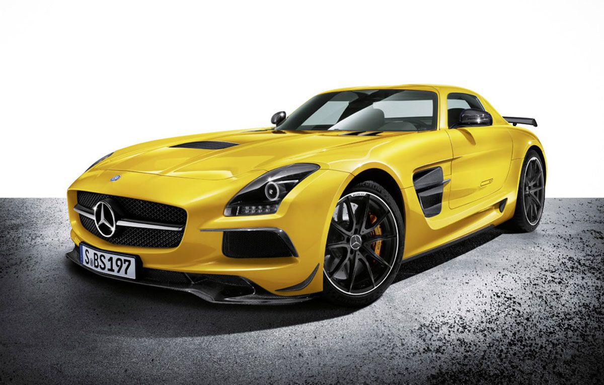 2013 Mercedes Benz Sls Amg Black Series Mercedes Benz Sls
