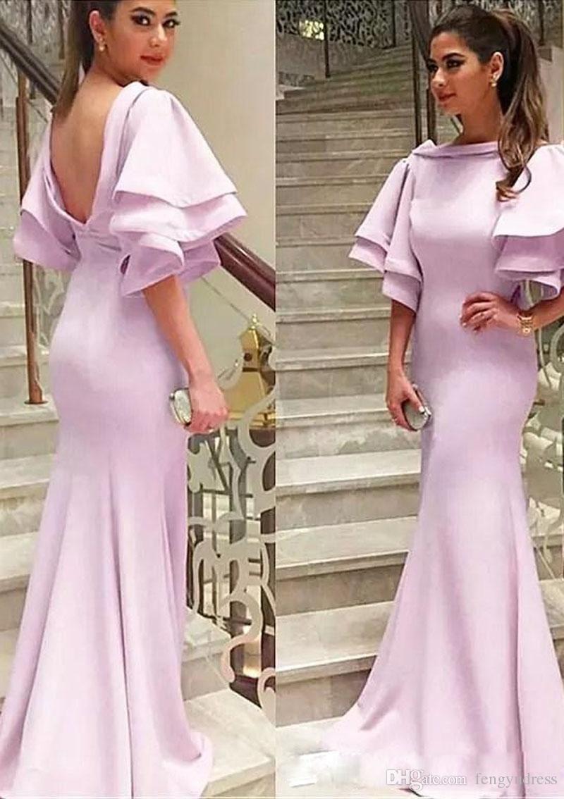 fashion design womenus sleeve evening dresses custom made