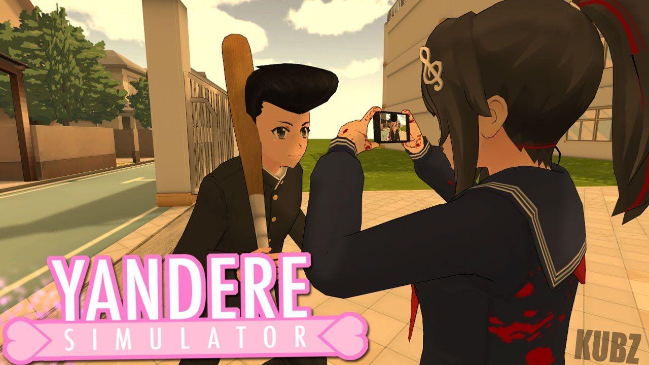 BEST YANDERE SIM GLITCH I'VE SEEN! | Yandere Simulator Myths<<< omg.
