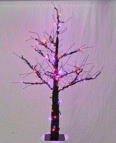Christmas at Winterland WL-DTR-06-LPU/OR Purple / Orange Pre-Lit