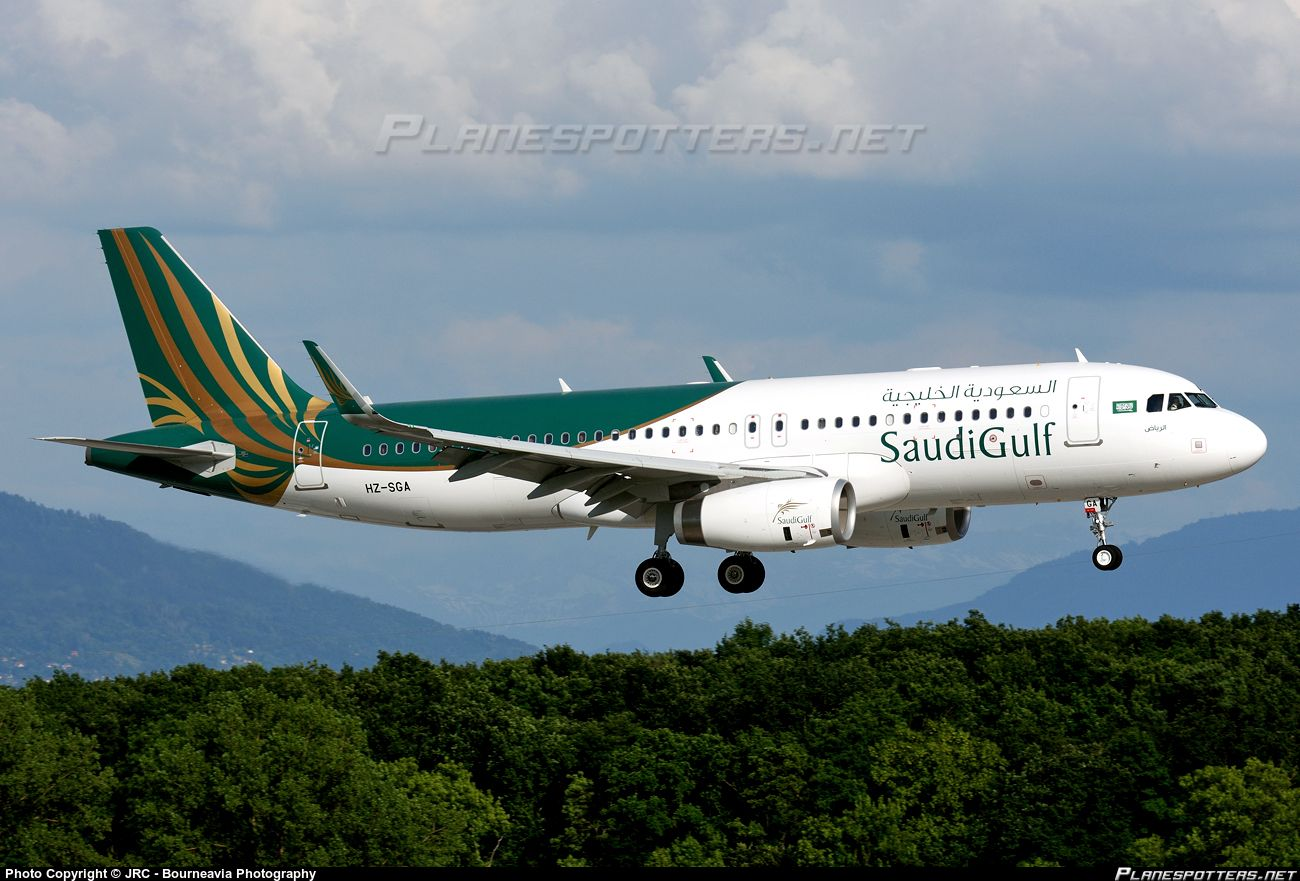 Hz Sga Saudigulf Airlines Airbus A320 232 Wl Airbus Airlines Airline