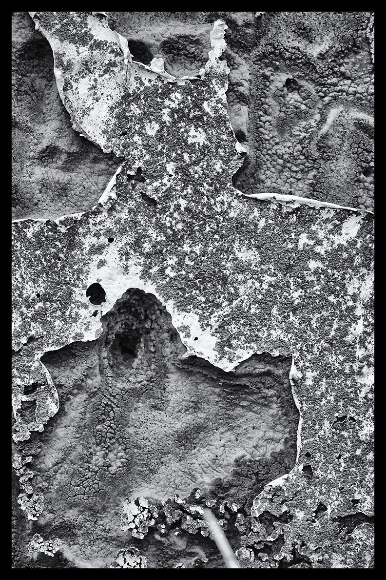 """Mars Landing-Peeled Paint"" Limited Edition photograph by dwjohnson.  Print size is 10x15. Framed size is 16x21. Only 100 will be made. White mount and mat with black frame with signed and numbered certificate. #150120-008-A $ 335.00"