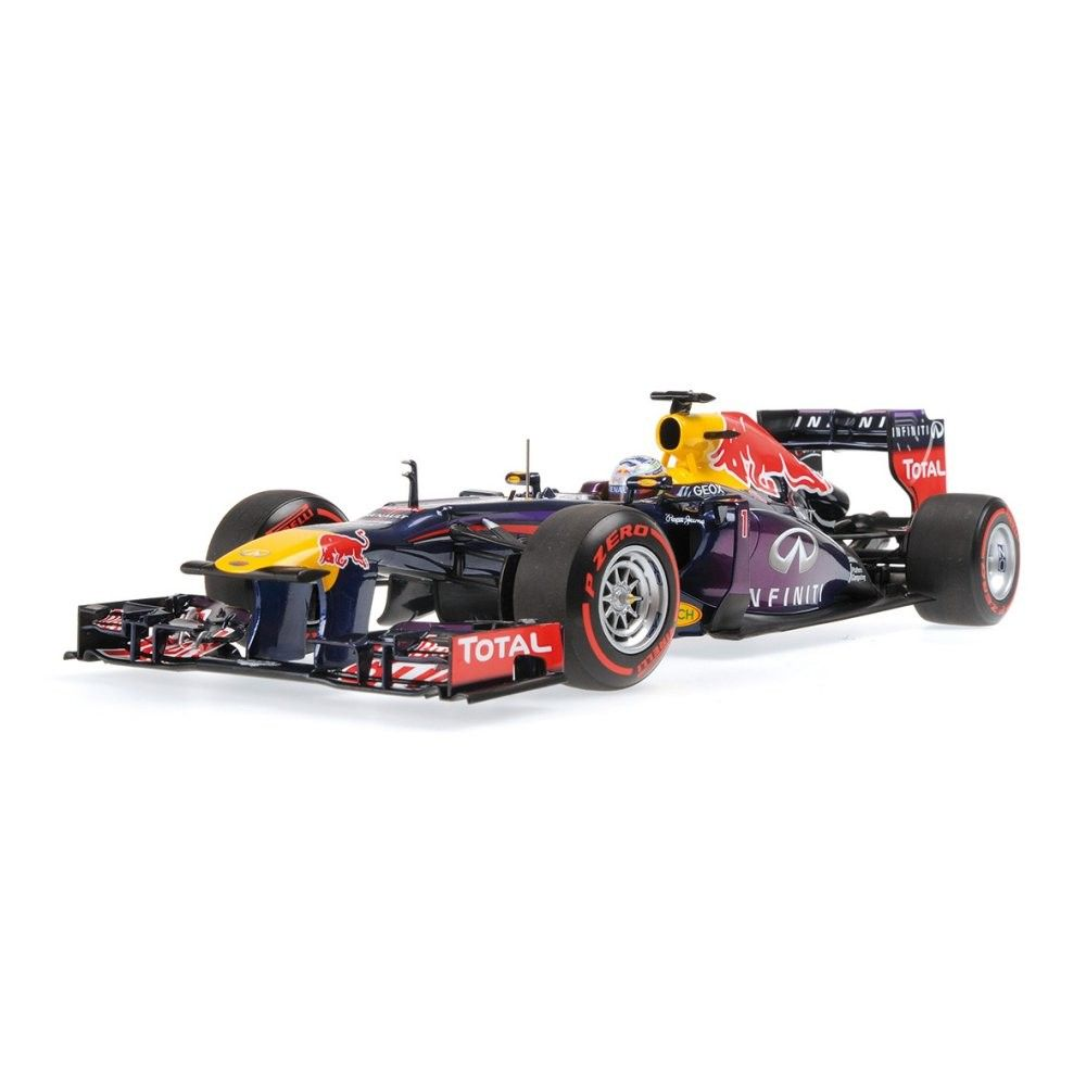 INFINITI RED BULL RACING RENAULT RB9 - SEBASTIAN VETTEL - WINNER BRAZIL GP  2013 - Racing cars - Die-cast  31921a5ac381f
