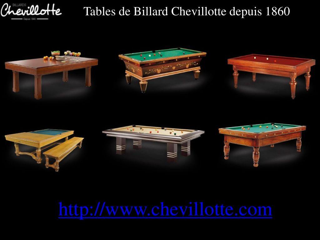 Table De Billard Modles Chevillotte By Chevillotte Billiards Via Slideshare Billiard Table Billiards Table