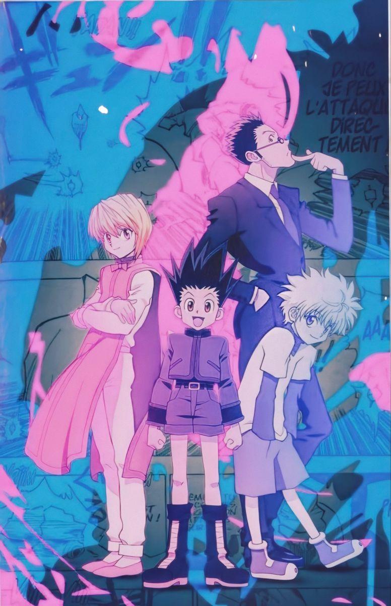 hxh poster hunter x hunter anime