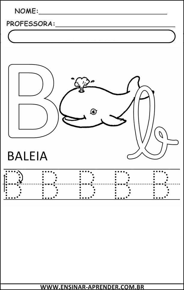 Atividades Com Todas As Letras Do Alfabeto Cantinho Do Educador