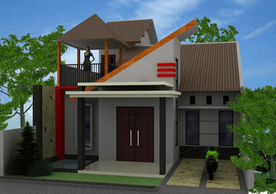Desain rumah kecil minimalis yang unik 1 & Desain rumah kecil minimalis yang unik 1   My home   Pinterest