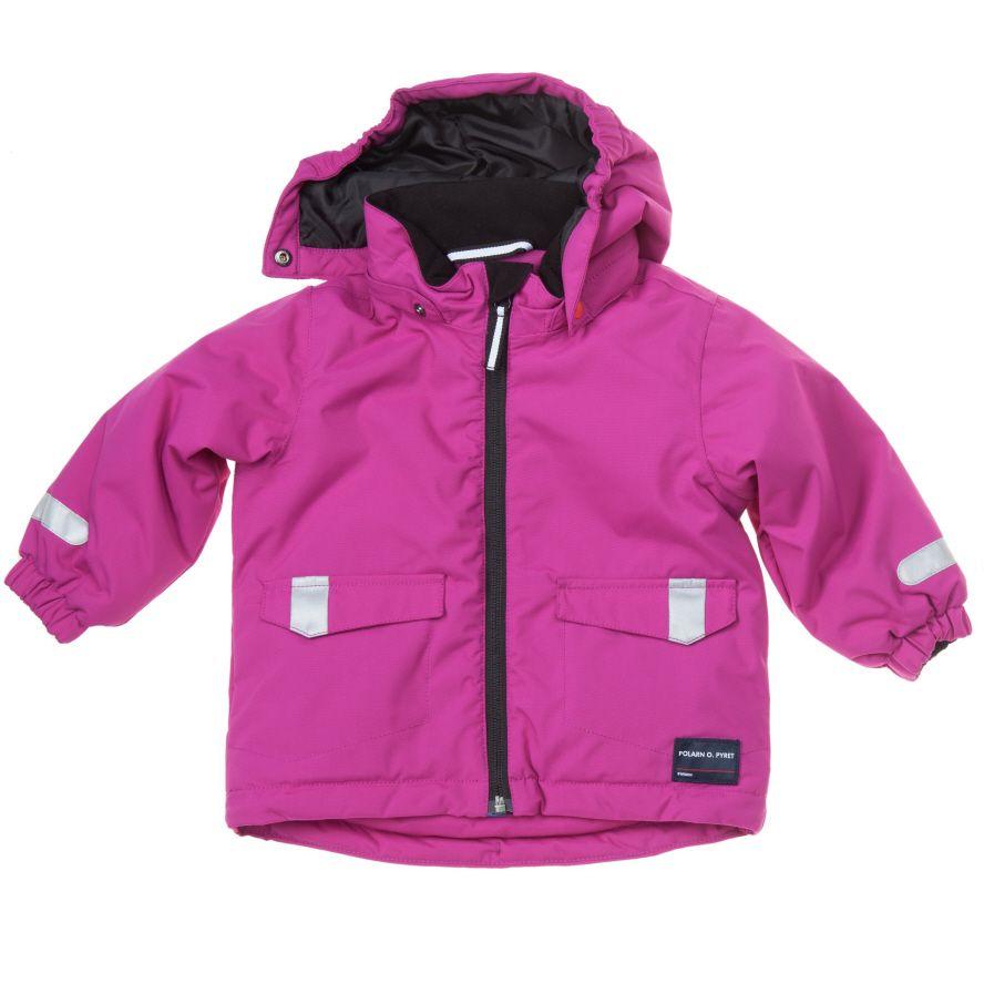 Purple padded Winter Baby Coat