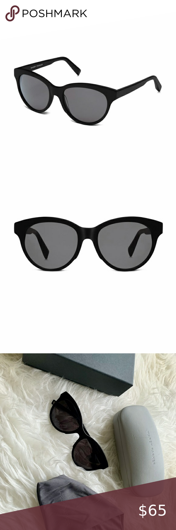 Warby Parker Piper Polarized Sunglasses Warby Parker Jet Black Color Warby