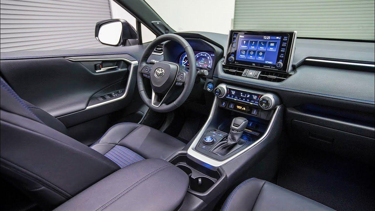 2019 Rav4 Interior Toyota Rav4 Hybrid Rav4 Hybrid Toyota Rav4 Interior