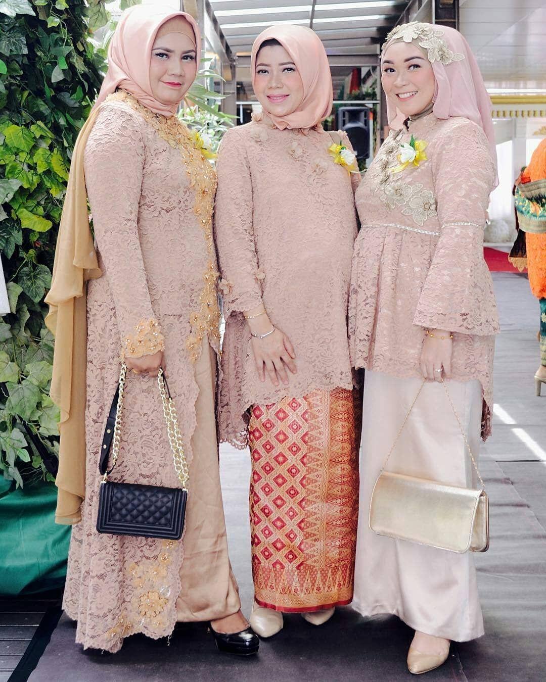 Kebaya Batik Modern  Kebaya muslim, Kebaya brokat, Kebaya jilbab