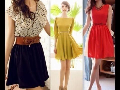 Como Hacer Un Vestido Sencillo Facil En Casa Moda De