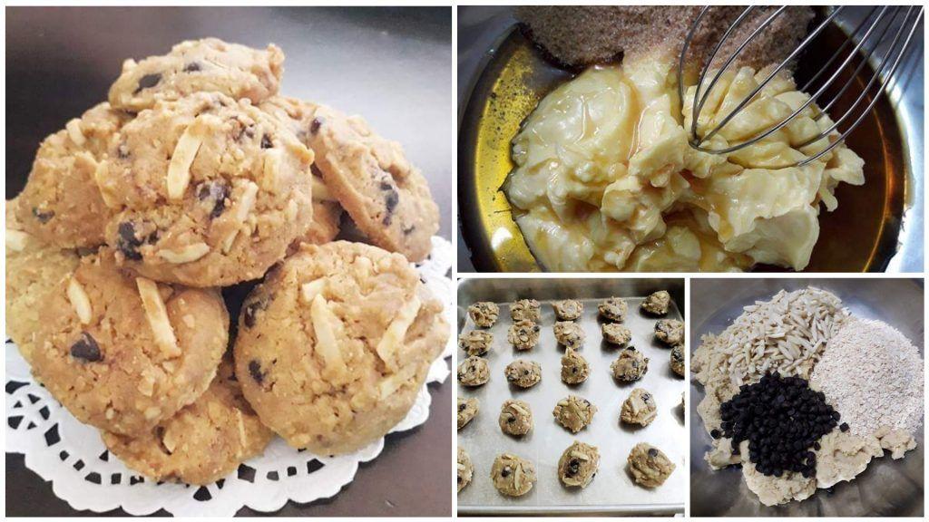 Resepi Biskut Nestum Choc Chip Yang Sangat Crunchy Guna Sukatan Cawan Mudah Je Masakan Simpel Makanan Resep