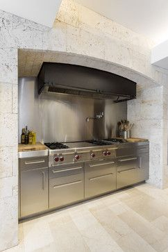 Stone Kitchens Design Ideas Pictures Remodel And Decor  Page 4 Magnificent Chef Kitchen Design Design Decoration