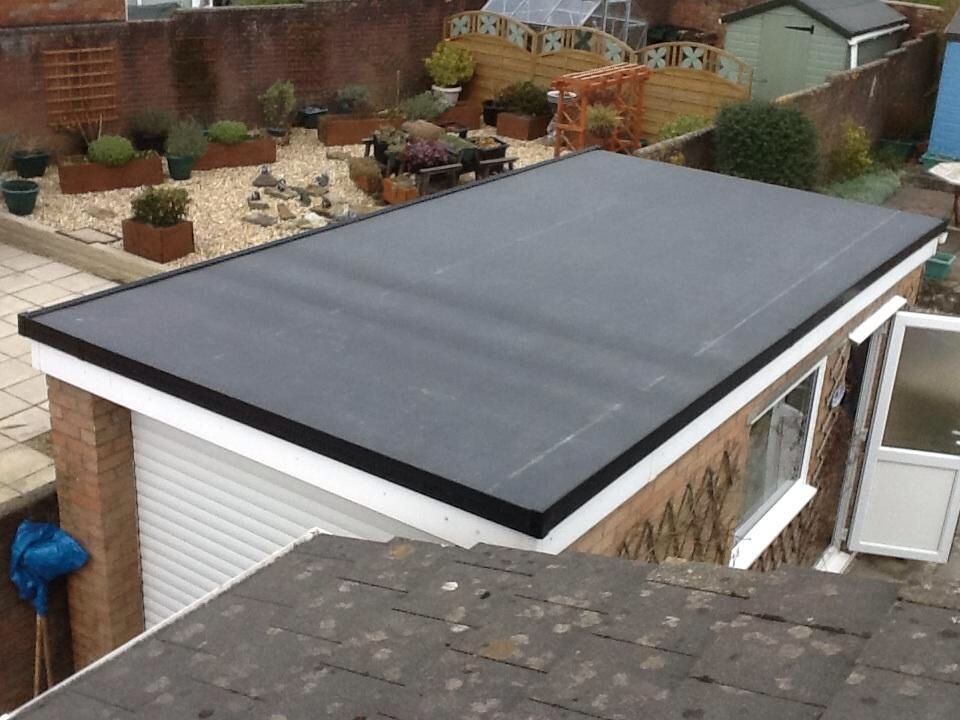 Firestone Rubber Cover Rubber Roofing Membrane For A