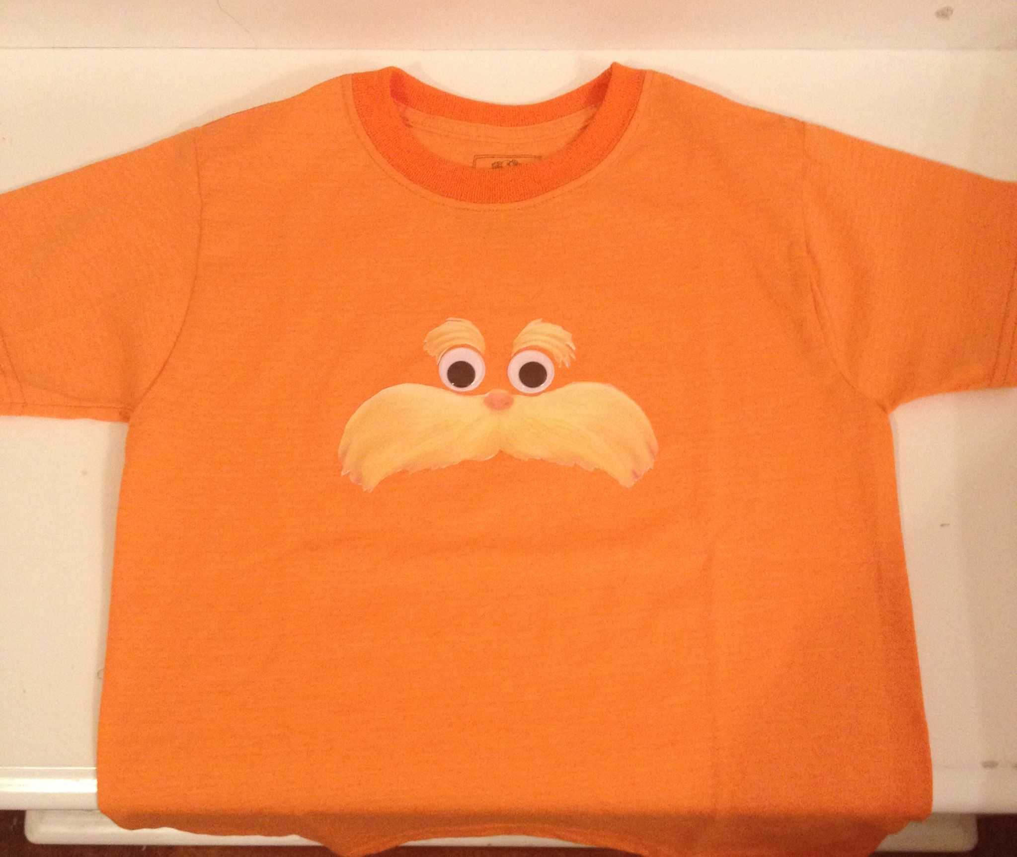 Lorax Tshirt For Dr Seuss Day Only 3 At Walmart Then Printed Out Andrew Smith Floral Shirt Navy Xxl The Mustache