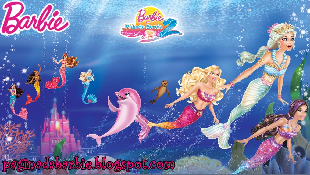 barbie vida de sereia desenhos animados pinterest barbie