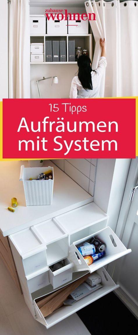 aufr umen mit system clean organize ordnungssysteme. Black Bedroom Furniture Sets. Home Design Ideas