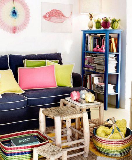 #decorar con #mimbre, una #tendencias2014 de #decoración para un #hogar fresco y…