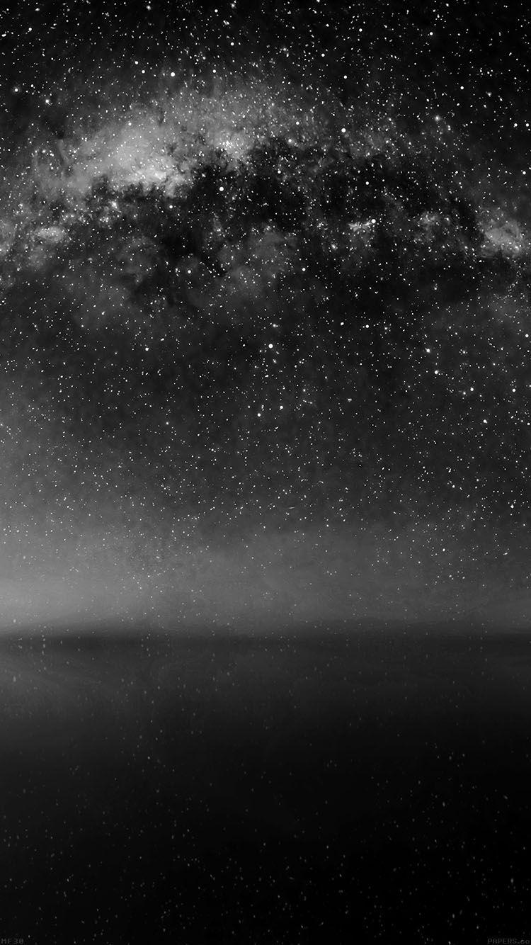 Mf30 Cosmos Dark Night Live Lake Space Starry Dark Wallpaper Iphone 6 Plus Wallpaper Dark Pictures