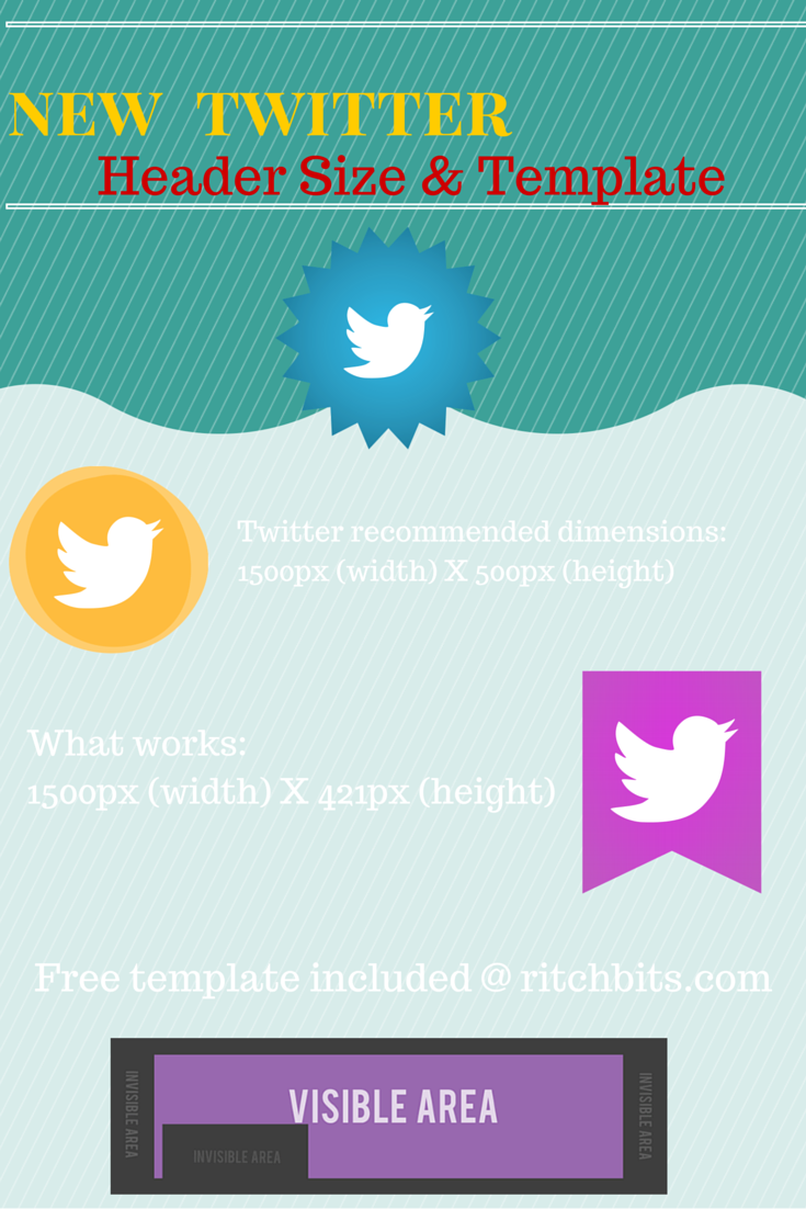 Learn the new Twitter header recommended dimensions (width