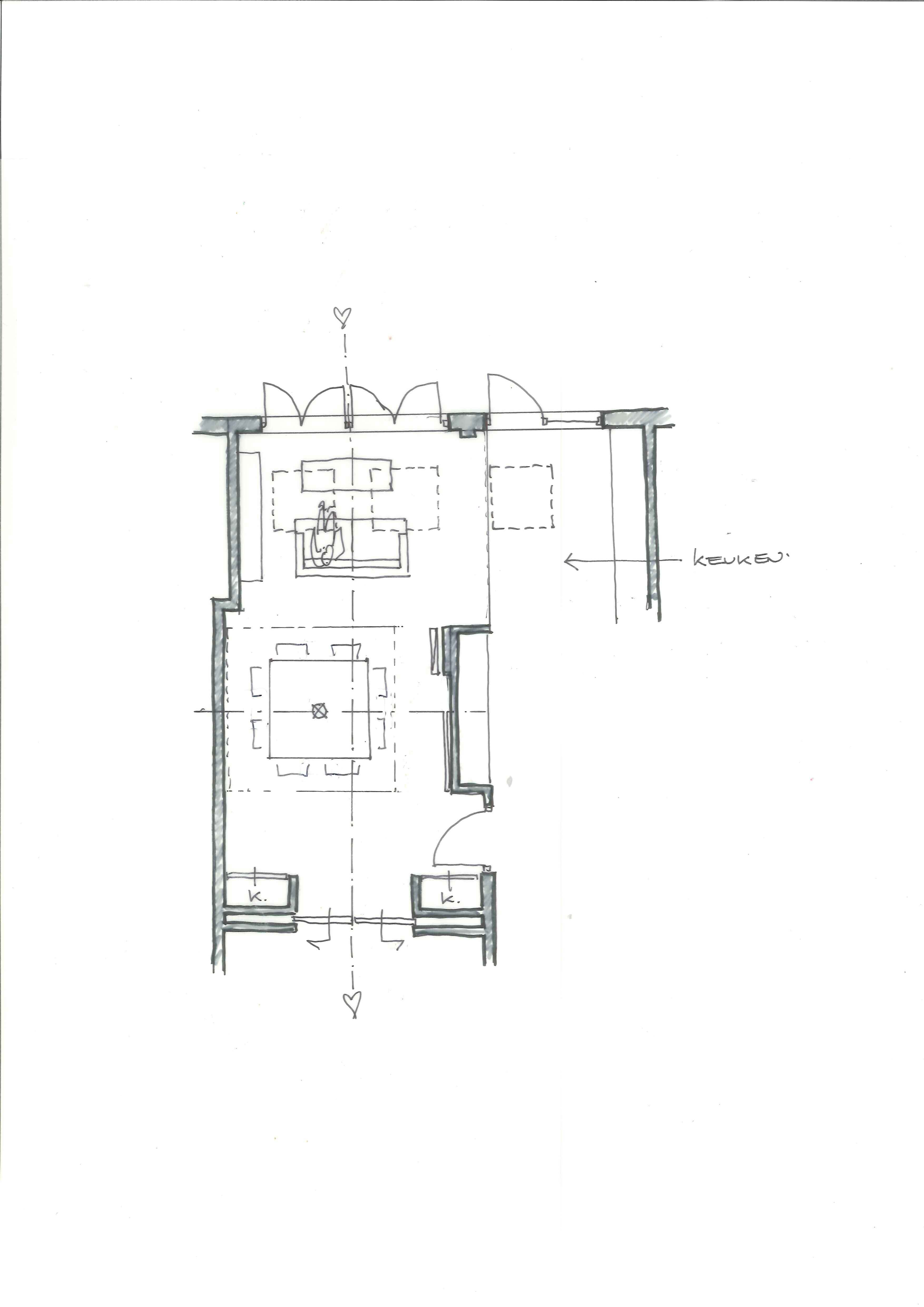 Plattegrond interieur in WinterStand   by WitInStijl   - Project ...