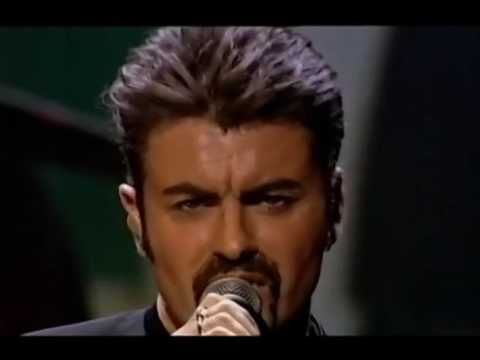 George Michael  Funny Video!! in 1999 online LIVE! - YouTube
