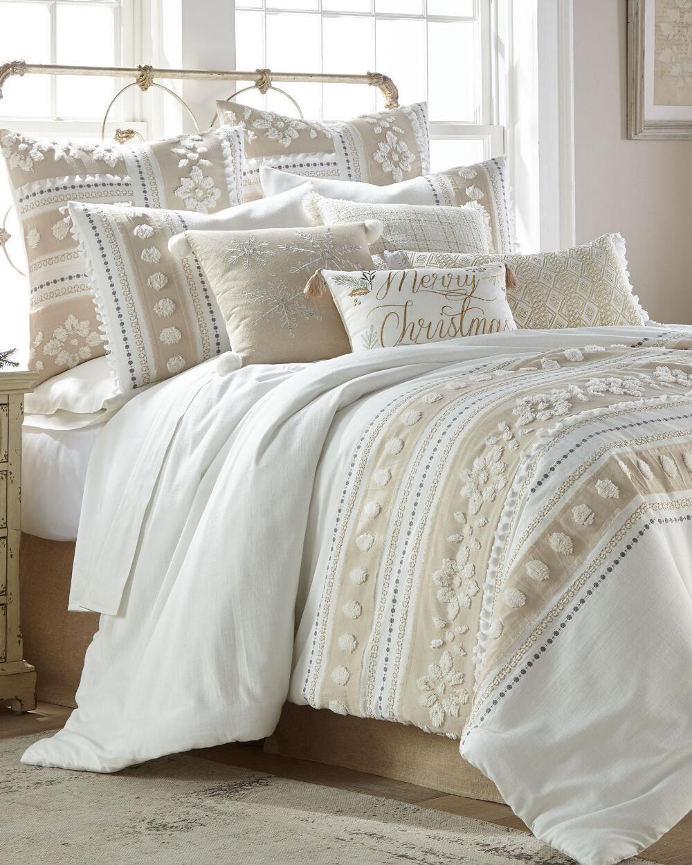 Arte Boema 3 Piece Noella Comforter Set King Polyester Cotton Comforter Sets Bed Comforters Comforters