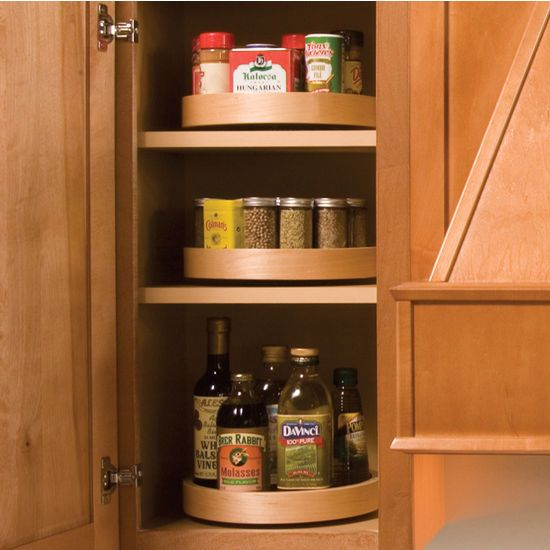 Lazy Susan Spice Rack Extraordinary What To Store On A Lazy Susan Cabinet  Google Search  Kitchen Design Decoration