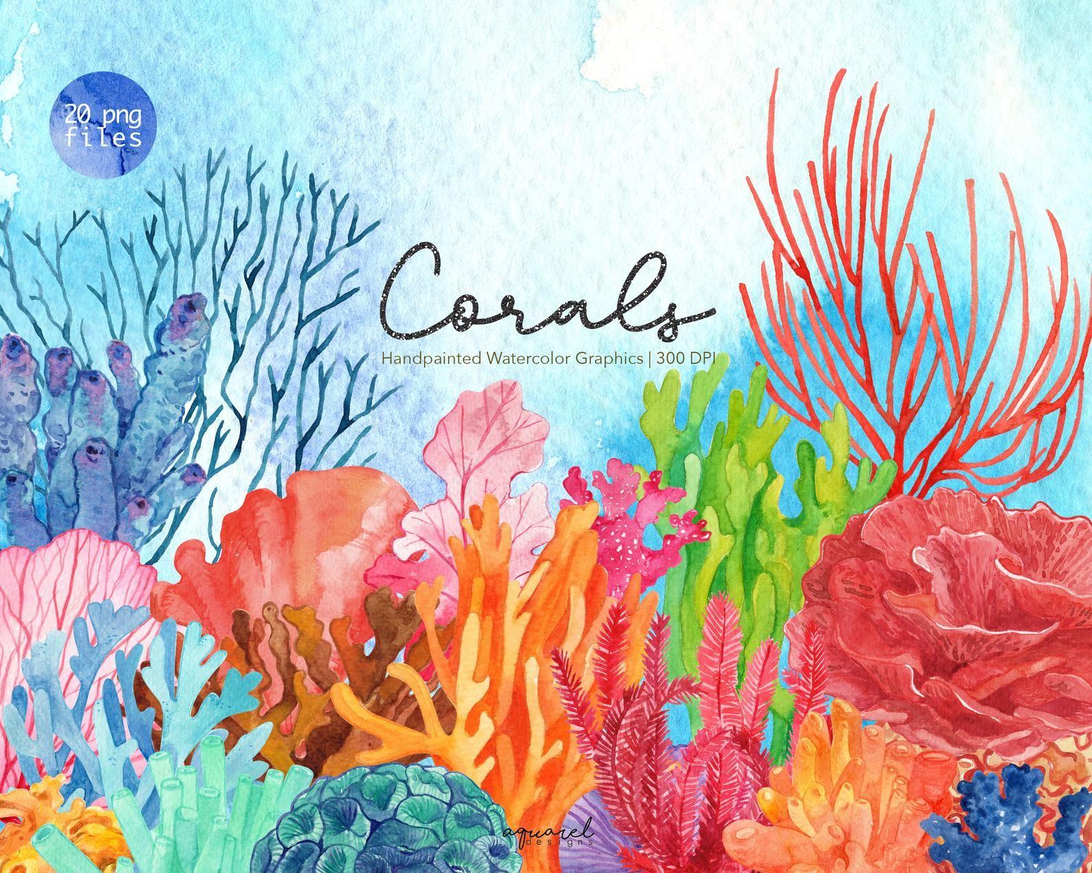 17++ Underwater coral reef clipart information