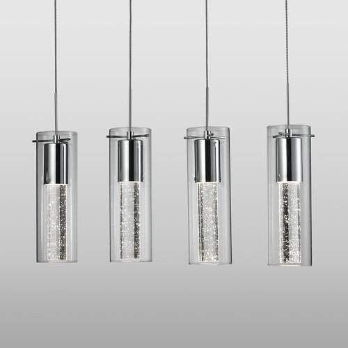 Epstein 4 Light Kitchen Island Cylinder Led Pendant