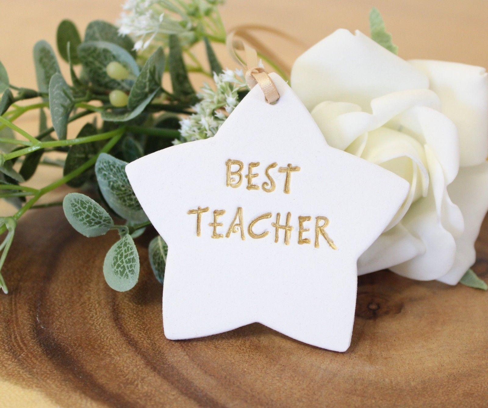 Best Teacher  Hanging Star Gift For Teacher Teachers Gift