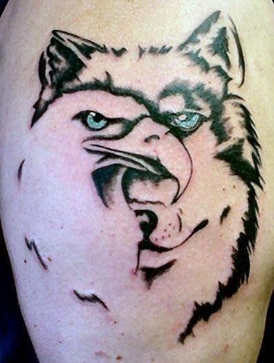 200dc6ede Eagle Tattoos, Love Tattoos, Irish Tattoos, Eagle Tattoo Girl, Future  Tattoos,