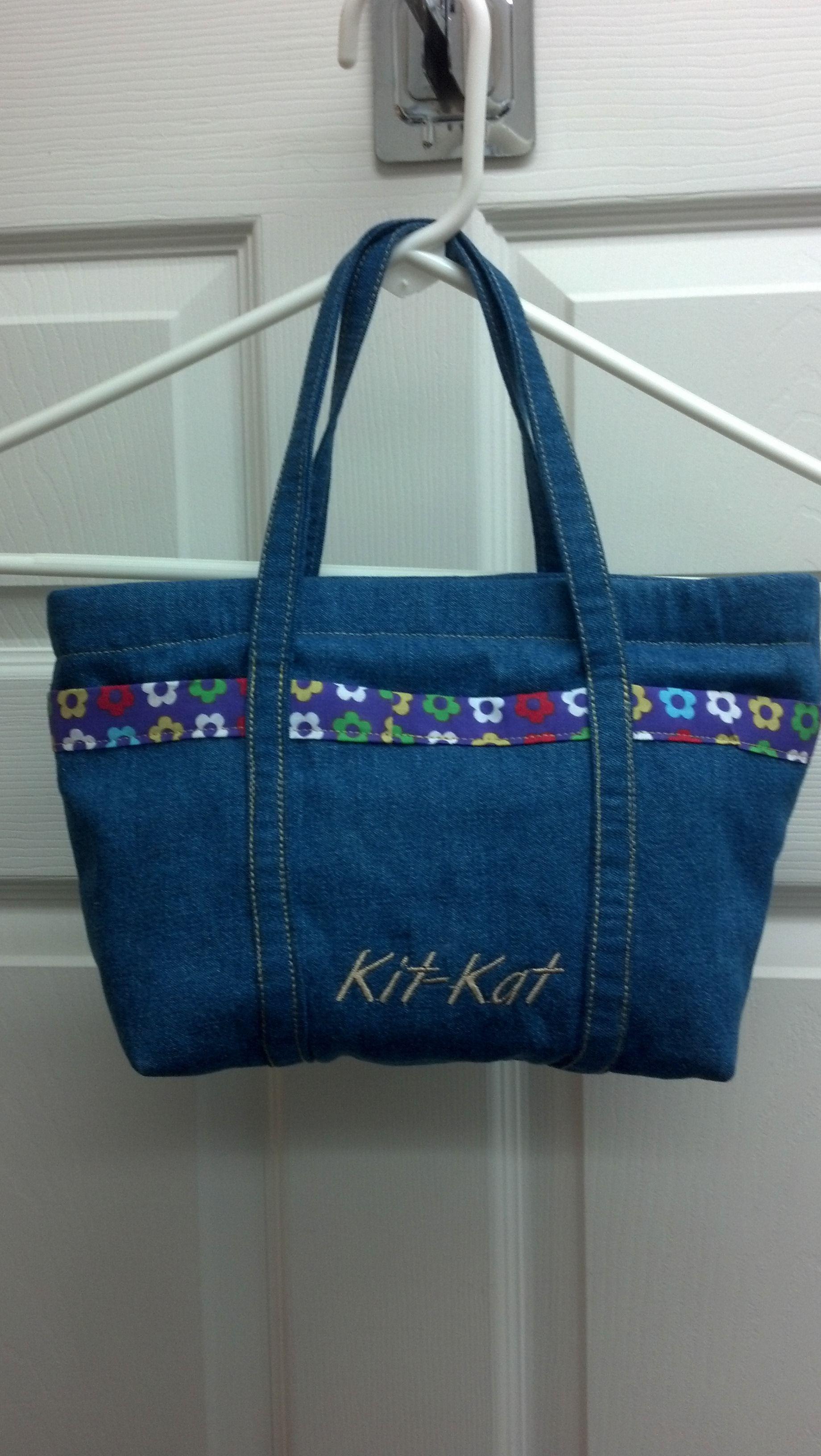 Zipper top purse for Granddaughter