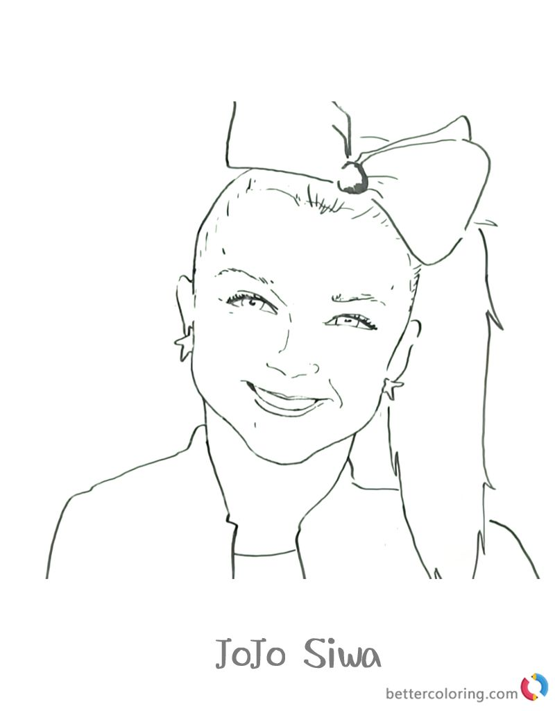 - Jojo Siwa Coloring Pages Jojo Siwa Colouring Pages Jojo Dance Free
